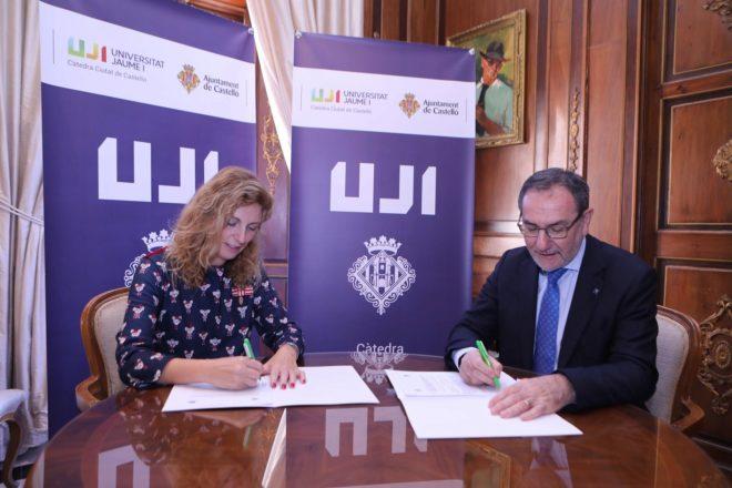 La UJI y el Ayuntamiento de Castellón crean la primera Cátedra Ciutat de Castelló