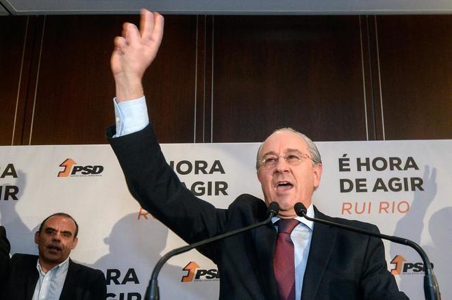 Rui Rio, nuevo líder de los conservadores portugueses