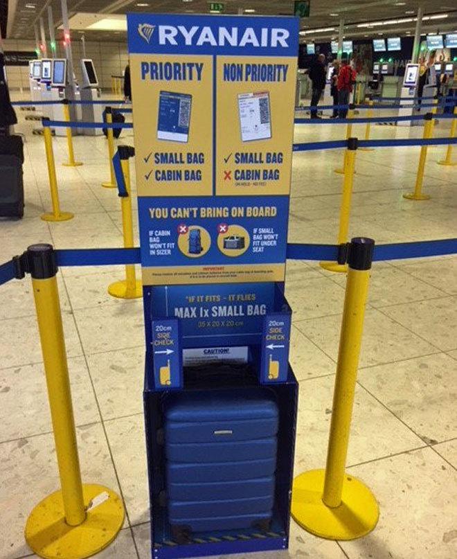 La nueva política de equipaje de Ryanair comienza mañana: pago extra por dos bultos