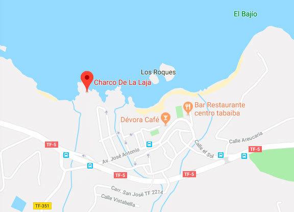 Dos hombres fallecen ahogados en el Charco de La Laja, en la costa norte de Tenerife