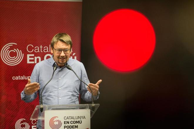 El coordinador general de Catalunya en Comú, Xavier Domènech