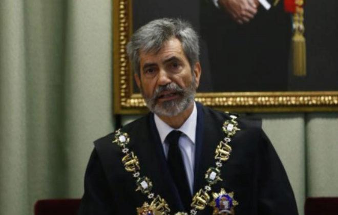 Carlos Lesmes, presidente del Consejo General del Poder Judicial