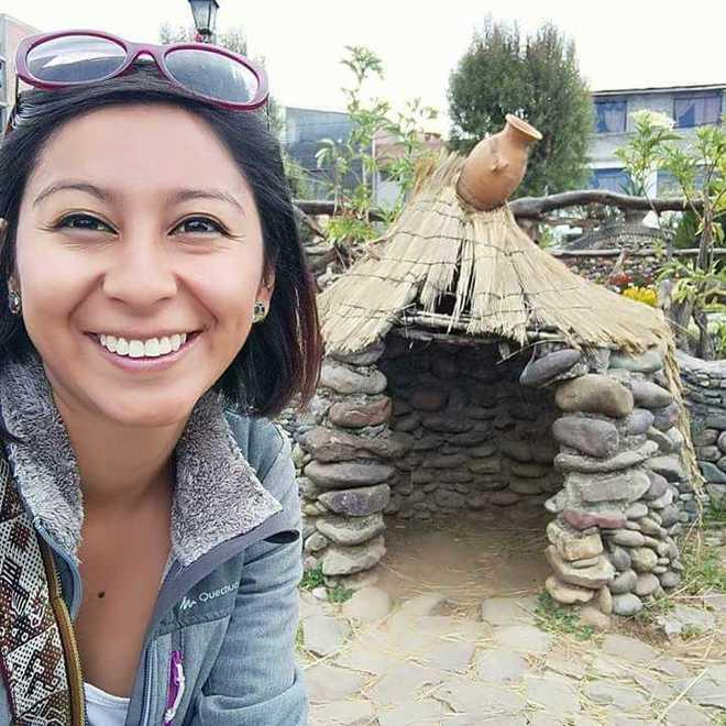 Nathaly Salazar, la joven valenciana fallecida en Perú
