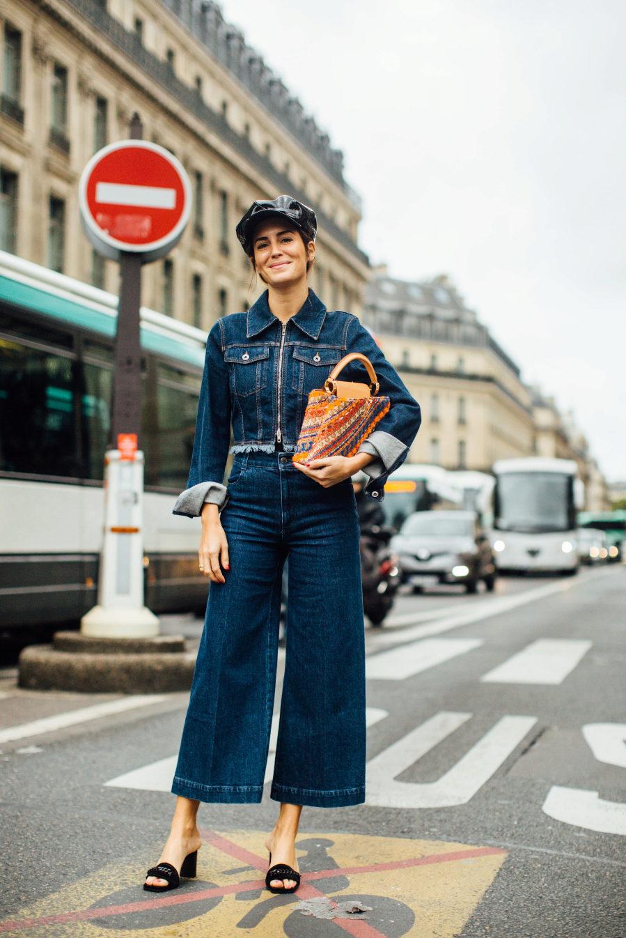"""La """"influencer"""" Gala González en los desfiles de París"""