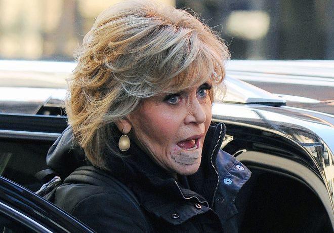 Jane Fonda, este lunes tras desvelar que sufre cáncer.