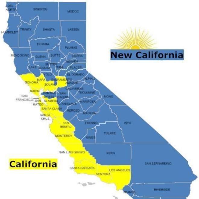 Nueva California la Catalua de Trump