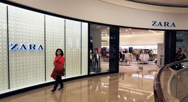 Una tienda de Zara en Taiwan.