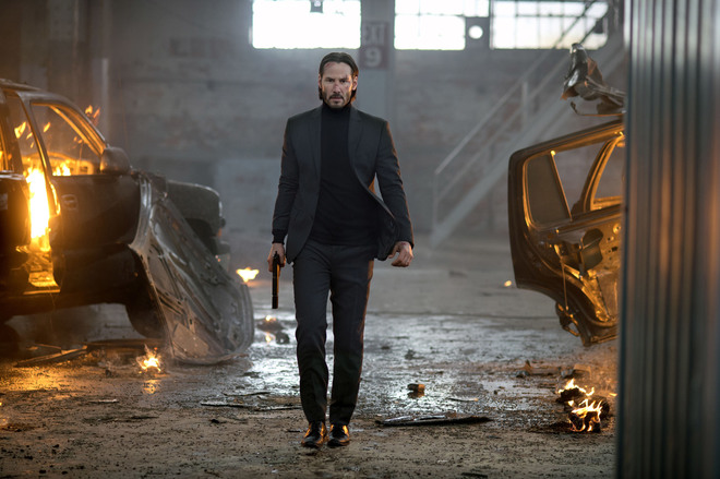 Keanu Reeves, en la película 'John Wick'.
