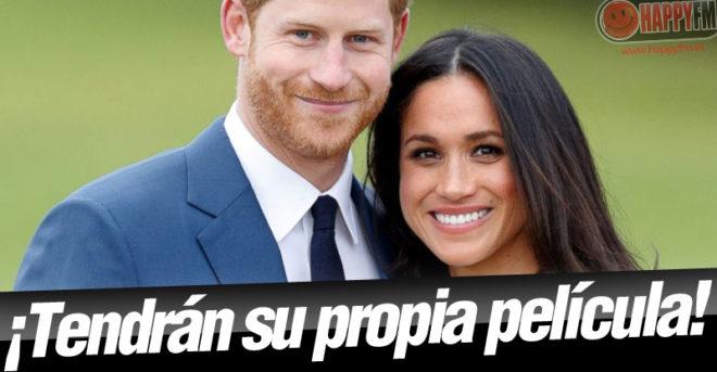 El príncipe Harry y Meghan Markle tendrán su propia película de televisión