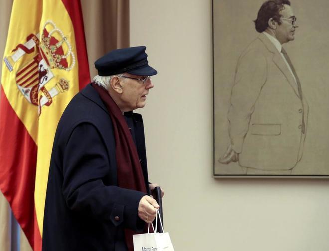 José Manuel Romay Beccaría, a su llegada a la Comisión para la...