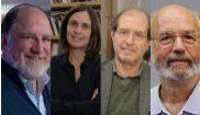 De izquierda a derecha:  Ronald Rivest, Shafi Goldwasser, Silvio...