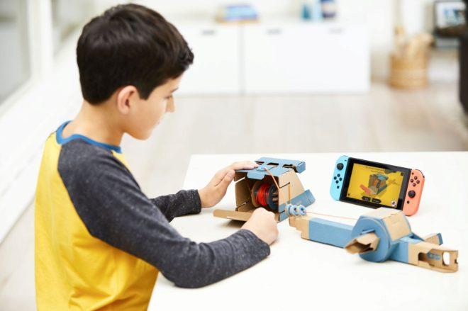 La próxima gran tecnología de Nintendo, el cartón