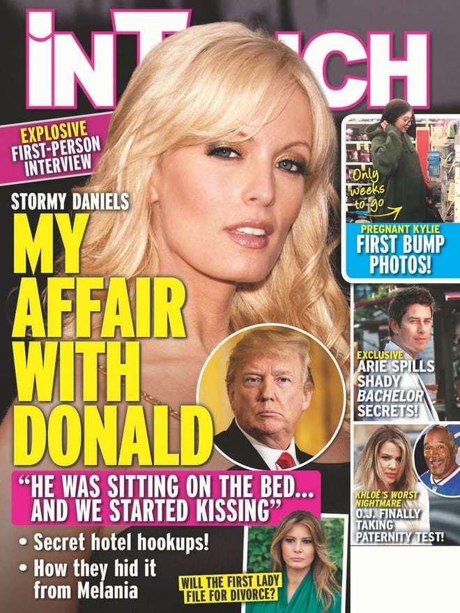 La actriz porno Stormy Daniels aseguró en 2011 que había mantenido relaciones con Donald Trump