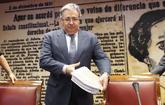 Juan Ignacio Zoido, a su llegada a la Comisión de Interior del...