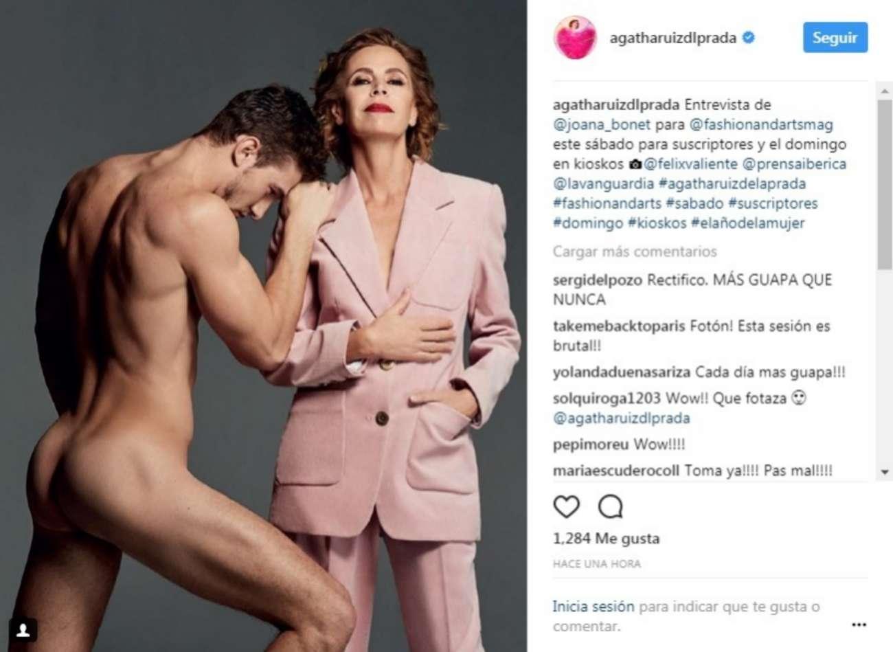 La diseñadora Ágatha Ruiz de la Prada (57) ha demostrado que se toma...