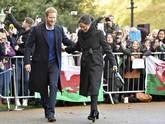 La prometida del príncipe Harry ha convertido los abrigos y el moño...