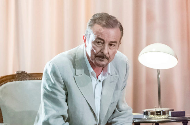El actor Juan Diego, Premio Ercilla 2017 por su trayectoria artística