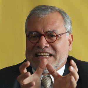 El ex presidente de la ONG Transparencia Internacional y ex procurador para el caso Fujimori-Montesinos, José Ugaz.