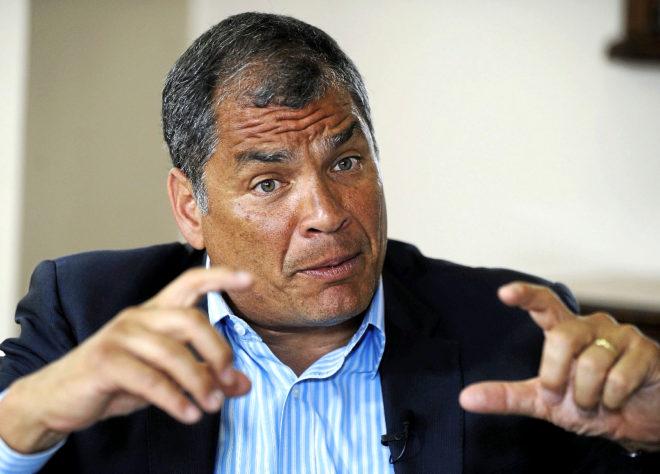 ECUADOR / Rafael Correa: