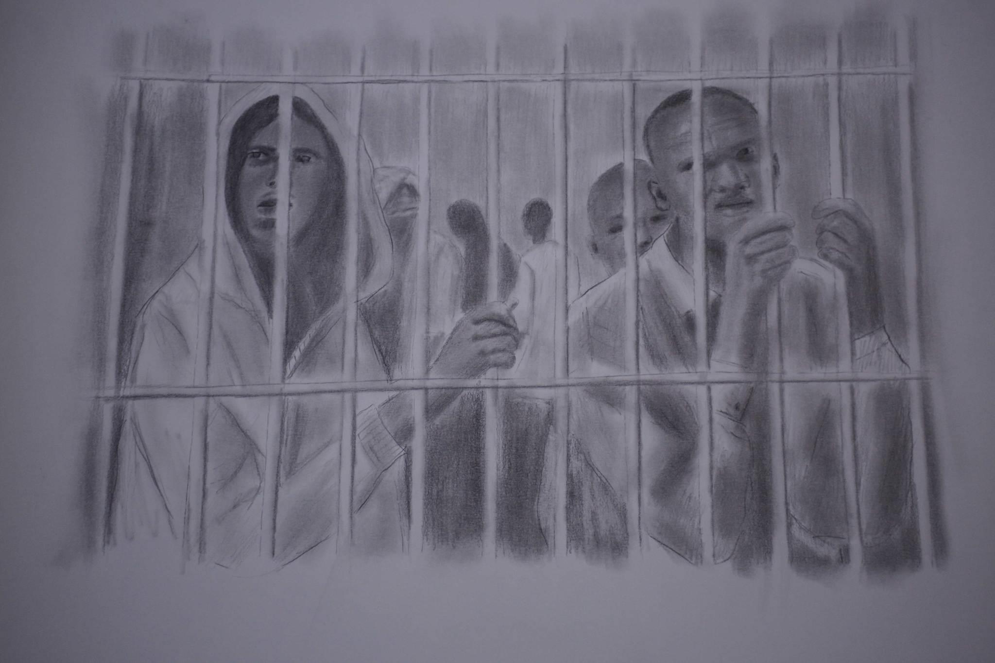 El 'Picasso' ilegal que pinta la tragedia de los inmigrantes