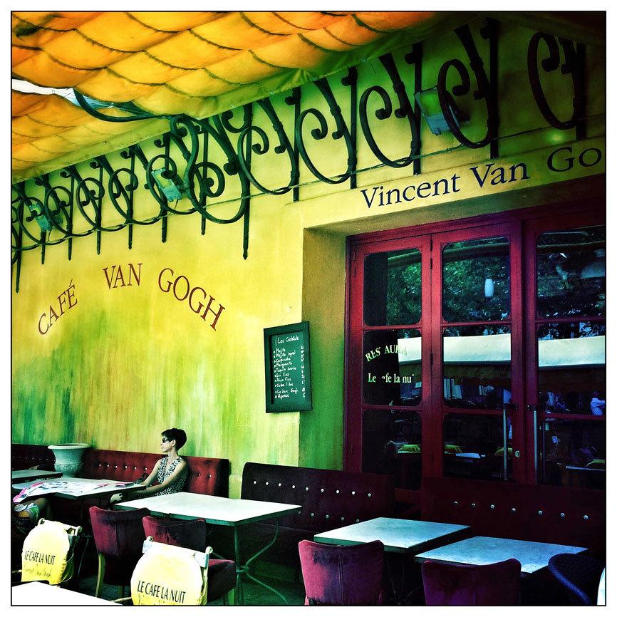 En Arles se dice que fue la luz lo que atrajo a Van Gogh a esta zona....