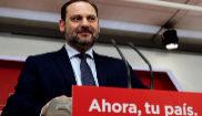 José Luis Ábalos, durante la rueda de prensa tras la reunión de la...