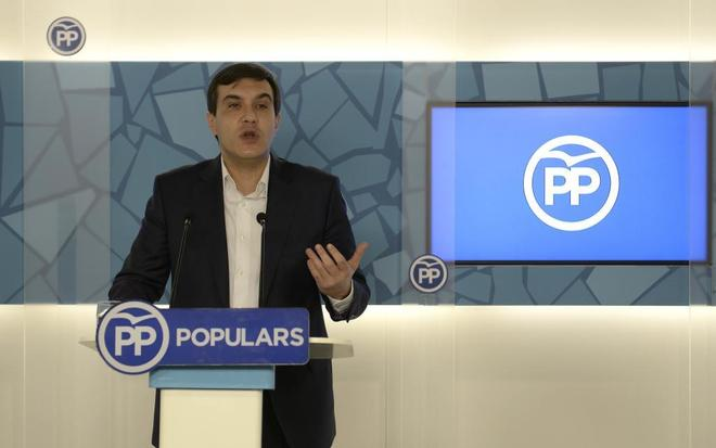 José Luis Ayllón, en un acto del PP catalán el pasado mes de marzo.