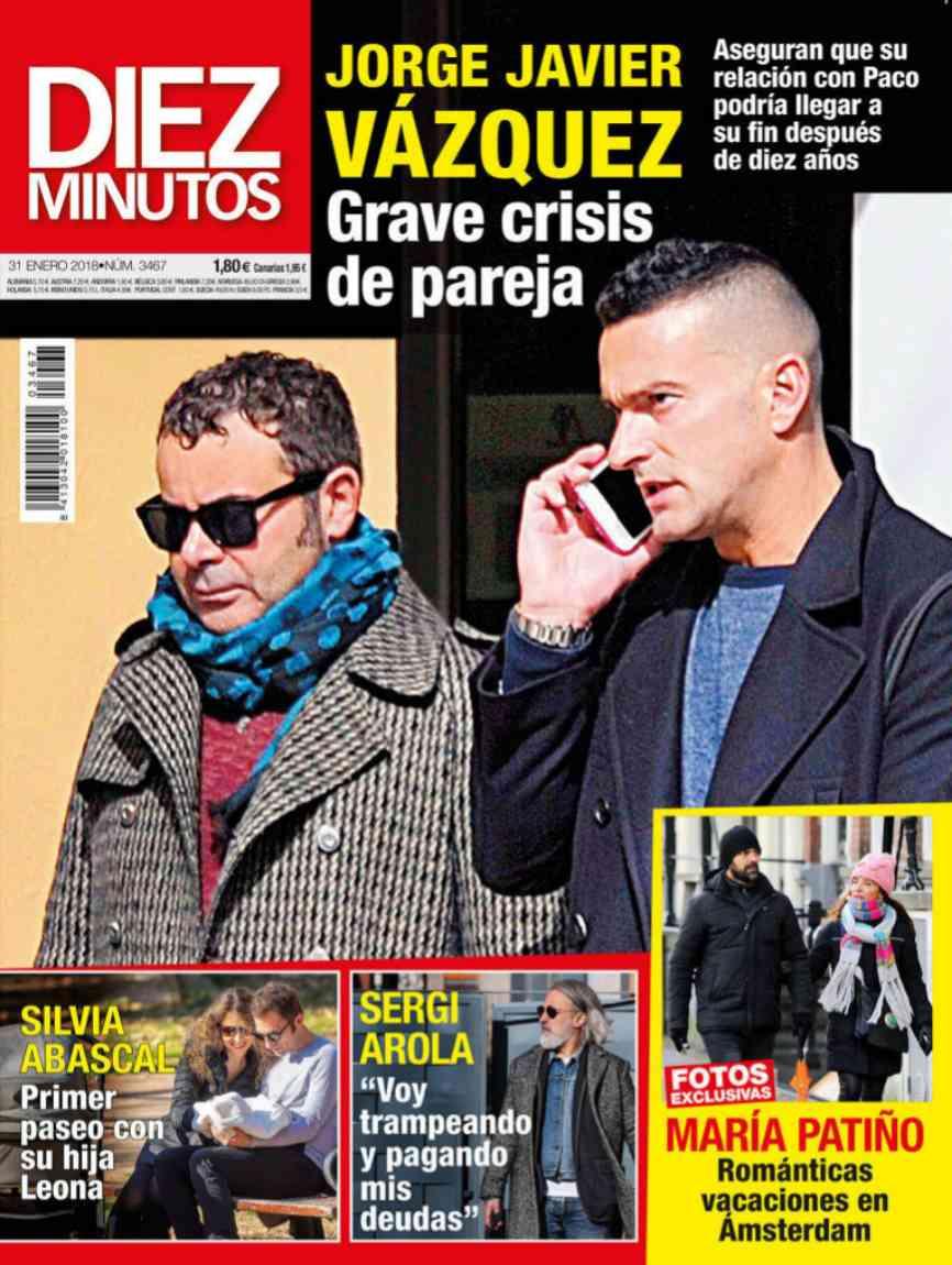 La cara de Paco, pareja de Jorge Javier Vázquez, no es muy conocida...
