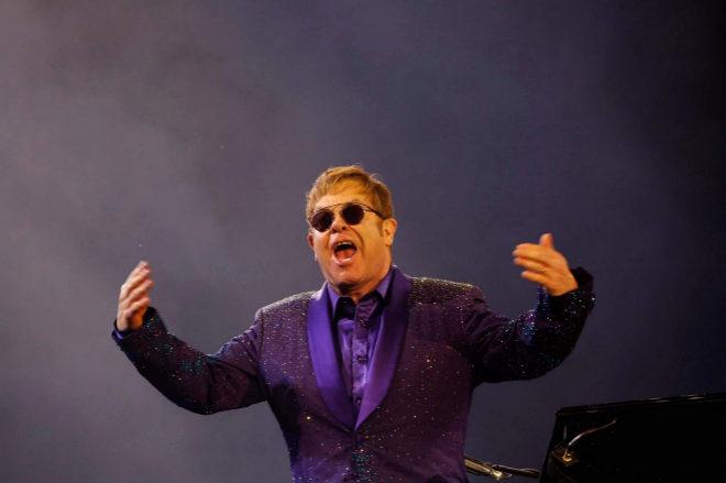 Elton John durante una actuación el pasado mes de mayo en Tel Aviv
