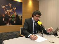 Puigdemont en una reciente entrevista en Catalunya Radio.