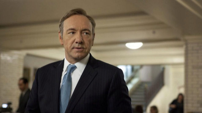 Kevin Spacey en 'House of Cards'.