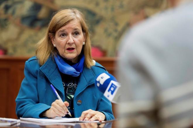 La juez María Elosegui, miembro del Tribunal Europeo de Derechos...