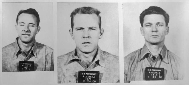 Resultado de imagen para Clarence Anglin, John Anglin y Frank Morris