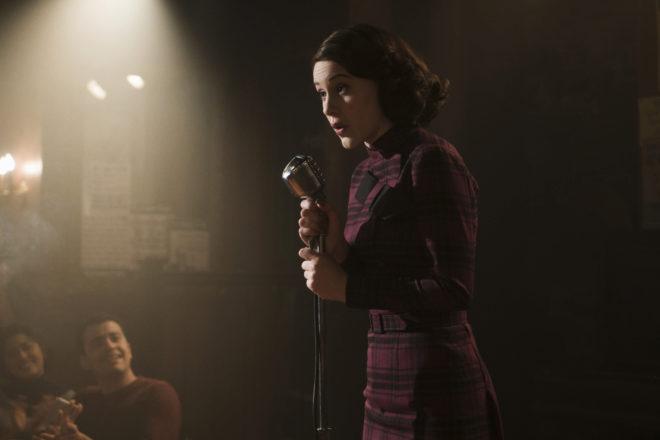La actriz Rachel Brosnahan, protagonista de la serie 'The Marvelous...