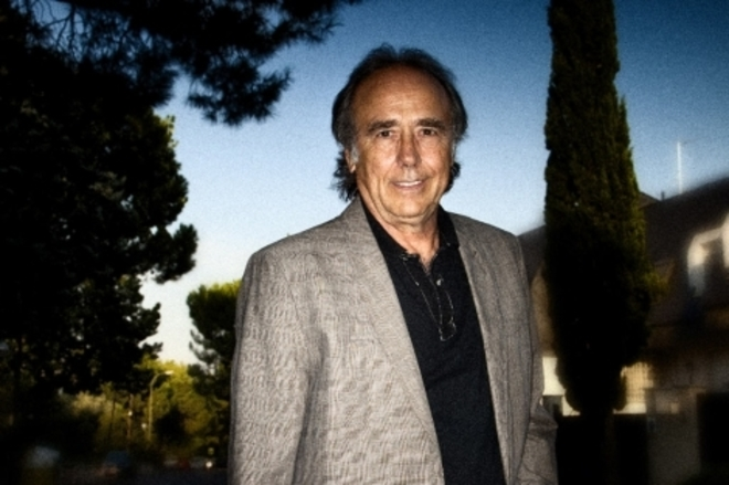 El cantautor catalán Joan Manuel Serrat.