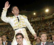 Pepín Liria, en su despedida de Murcia en 2008