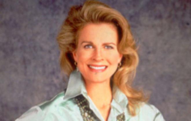 Candice Bergen, como 'Murphy Brown'.