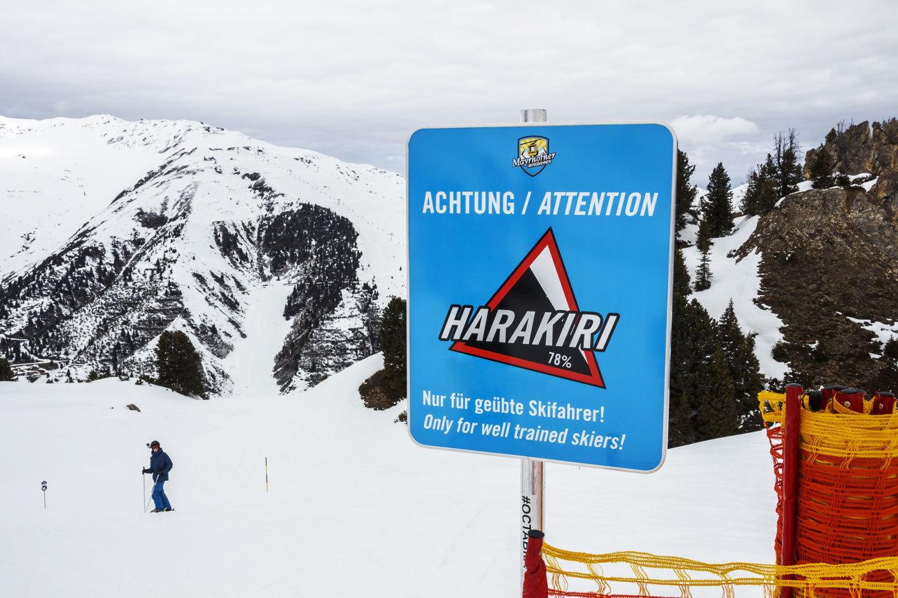 La pista más empinada de Austria, con una pendiente que alcanza el...
