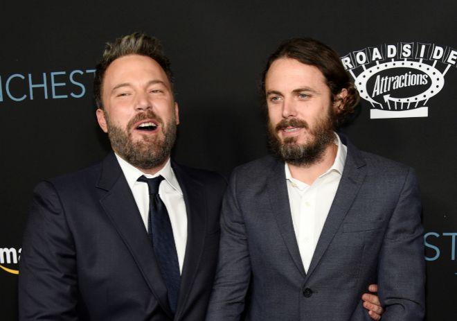 Los hermanos Affleck, en una imagen de 2016.