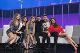 De izquierda a derecha, Miriam, Aitana, Amaia, Alfred, Agoney y Ana...