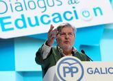 Íñigo Méndez de Vigo, durante su intervención en la convención...