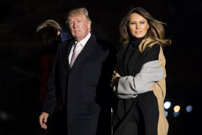 """Resultado de imagen para Trump y la primera dama, Melania Trump"""""""