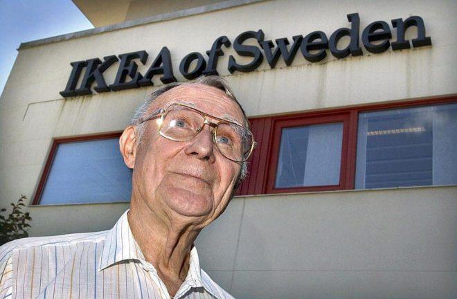 El empresario sueco Ingvar Kamprad en una foto de archivo.