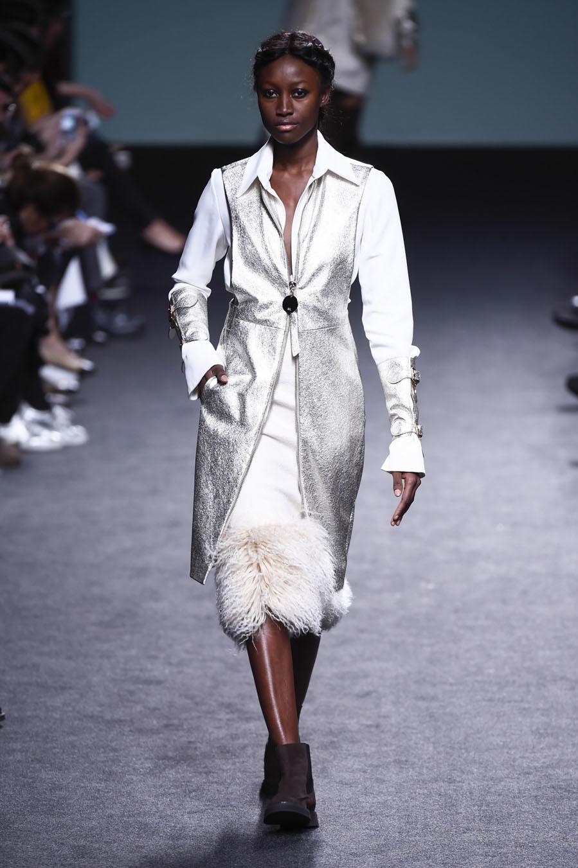 Desfile de Marcos Luengo - Mercedes-Benz Fashion Week Madrid -...