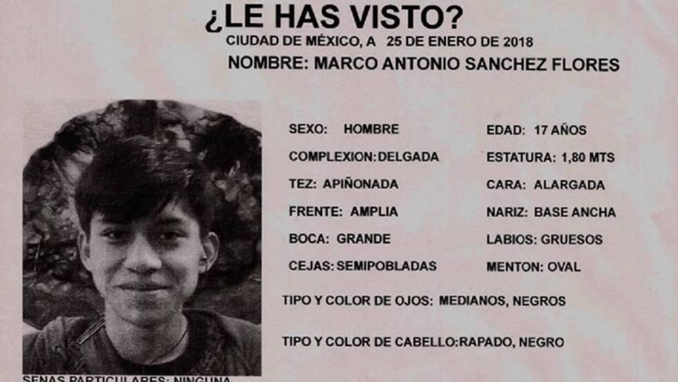 México se moviliza para hallar a un joven de 17 años desaparecido ...