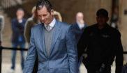 Iñaki Urdangarin, saliendo de los juzgados de Palma en febrero de...