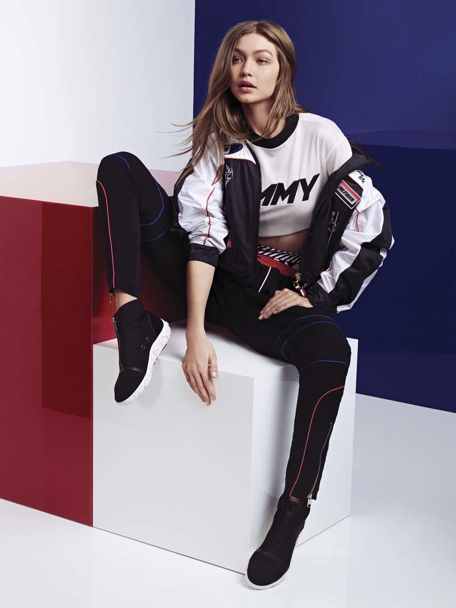 Último Repegar Extraer  Gigi Hadid y su cuarta colección como diseñadora para Tommy Hilfiger   Moda
