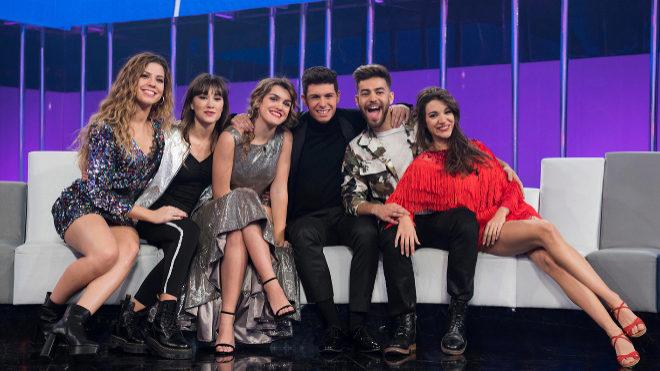 Los seis candidatos a representar a España en el Festival de...
