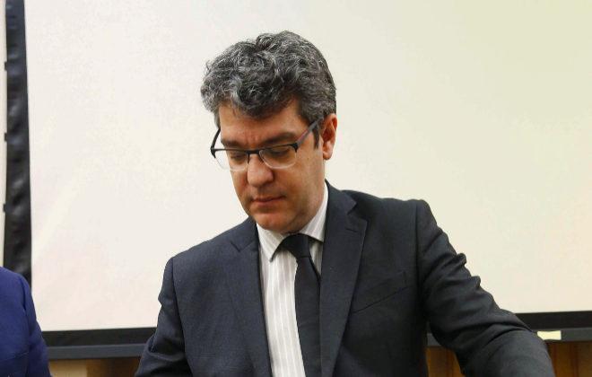 El Ministro de Energía Álvaro Nadal, en su comparecencia en la Comisión de Energía, Turismo y Agenda Digital del Congreso