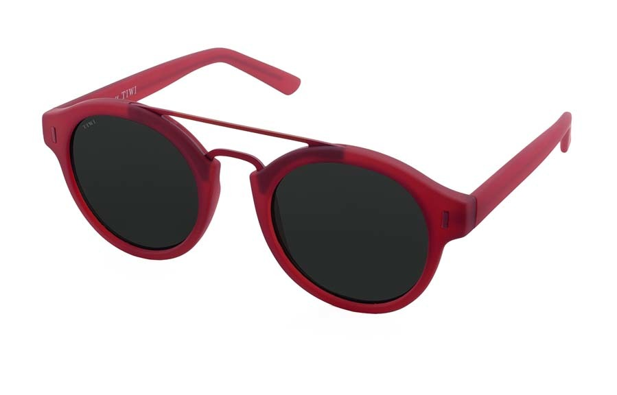 Gafas burdeos modelo Halley (68 euros).